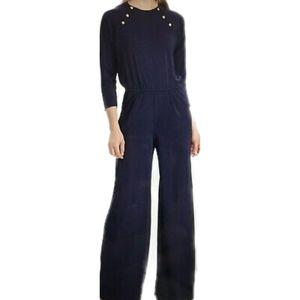 LAUREN Navy Blue Jumpsuit